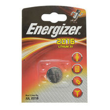 2X Energizer CR2016 Coin Lithium Battery Single 2016 3V DL2016 - EXP JUL 2017