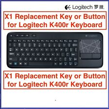 LOGITECH K400r Bluetooth Solar Keyboard REPLACEMENT KEY BUTTON (ONE SUPPLIED)