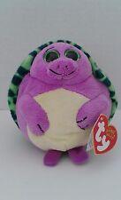"""Ty Beanie Ballz Tiki Turtle 5"""" Bean Bag Plush 2011 Stuffed Animal Toy Boys Girls"""