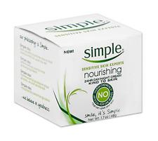 Simple Sensitive Skin Nourishing 24HR Day Night Moisturizing Cream