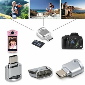 USB C 3.1 Type C Micro SD TF Memory Card Reader OTG Adapter For MacBook Samsung
