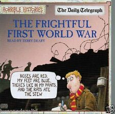 THE FRIGHTFUL FIRST WORLD WAR promo cd TERRY DEARY horrible histories HISTORY