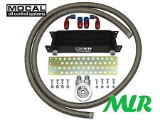 SUZUKI SWIFT SPORT 1.6 VVT MOCAL S/STEEL BRAIDED HOSE OIL COOLER KIT ZPK-3/4UNF
