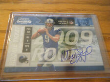 2009 Playoff Contenders Auto Matthew Stafford Card # 101 Only 540 Made Sharp NM+