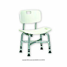 Extra Wide Heavy Duty Bariatric Bath Bench Shower Tub Chair Seat with Back 550lb
