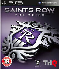 Saints Row The Third (3) ~ PS3 (in Great Condition)
