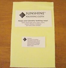90 Sunshine Polishing Cloths Jewelry Cleaner Gold Silver Brass Polisher Quality