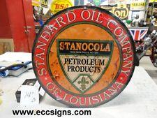 "Stanocola  Standard Oil Louisiana 14"" Weathered"