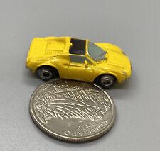 Micro Machines Ferrari Dino 246 GTS Yellow 1994 LGTI, Good Condition