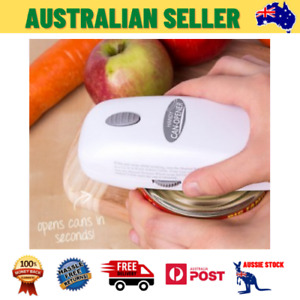 Automatic Black Hands-Free New Can Opener Electric Decker One Touch Spacemaker