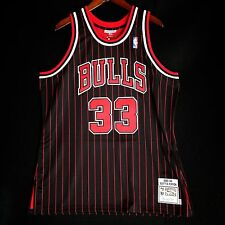 100% Authentic Mitchell & Ness Scottie Pippen 95 96 Bulls Jersey Size 48 XL Mens