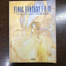FINAL FANTASY I II III 1 2 3 Piano Score Music Art Book FF SQUARE ENIX