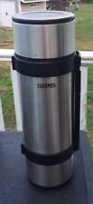 THERMOS Stainless Steel 1.8L Vacuum Insulated Flask Bottle Deluxe NCB-18N
