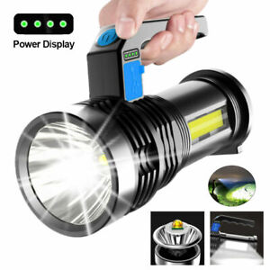Tragbare Wiederaufladbare Super Bright LED Searchlight Handscheinwerfer Taschenl