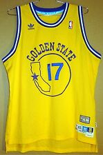GOLDEN STATE WARRIORS CHRIS MULLIN 1985-86 HARDWOOD CLASSIC NBA JERSEY