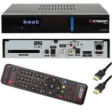 Octagon SF 128 DVB-S2 SAT Receiver E2 Enigma2 Linux H.265 HEVC USB CI IPTV +HDMI