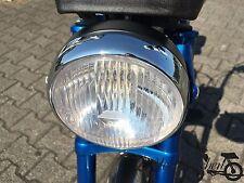 NEUER Scheinwerfer 145mm Lampe rund Hercules Prima 2 3 4 5S Mofa Optima Moped