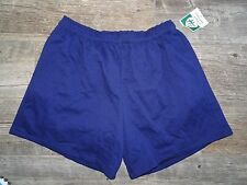 NEW Erick Hunter Fleece Shorts with Pockets - Navy - 2X,3X,4X,5X