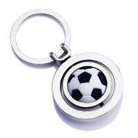 3D Soccer Sports Rotating Car Keychain Keyring Auto Key Chain Ring
