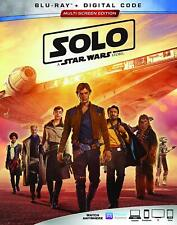 Solo: A Star Wars Story [Blu-Ray) Free Shipping