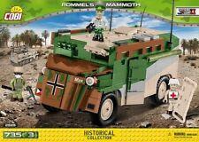 BRICKS COBI 2525 SMALL ARMY Rommel's Mammoth 735 ELEMENT new