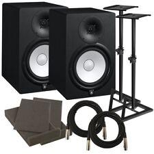 """Yamaha HS8 8"""" Powered Studio Monitor Speaker STUDIO KIT"""
