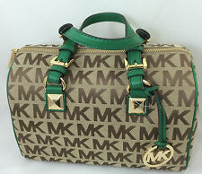 NEW Michael Kors MK Grayson Medium  Satchel Shoulder Bag Purse Handbag