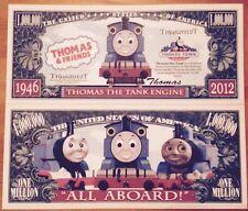 Thomas The Tank Engine Million Dollar Bill