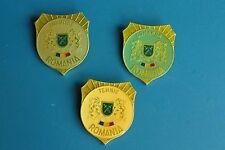 3 X Romania Romanian Army exercito, miltary badges, NATO Exercise OTAN