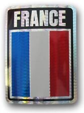 Wholesale Lot 6 France Country Flag Reflective Decal Bumper Sticker