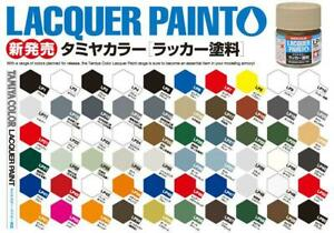 Tamiya Color Lacquer Paint 10ml Choice of Colours LP1-LP30