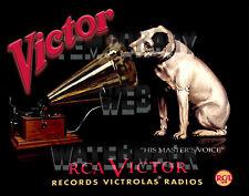 Restomod RCA Victor Victrola Dog Master Framed Fine-Art Print 11x14