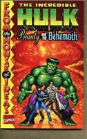 GN/TPB Incredible Hulk Beauty and the Behemoth Collected vg+ 4.5 1998 Kirby