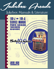 Seeburg 100J, 100Jl Service Manual, Highest Quality from Jukebox Arcade