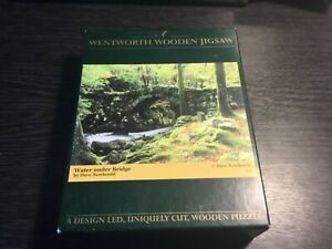 WENTWORTH WOODEN JIGSAW WATER UNDER BRIDGE BY DAVE NEWBOULD 250