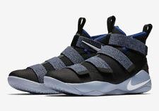 Nike Mens LeBron Soldier XI Black/White/Blue 897644 005 Size 13
