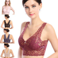 Extra-elastic Air Permeable Lace Sexy Bra Underwear  Women Breathable Sport Bra