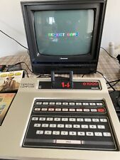 Vintage Phillips G7000 VideoPac Computer good condition tested-working & 8 games