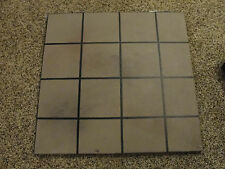 """FIREPLACE HEARTH FLOOR PROTECTOR Gray 30"""" x 30"""" (Available to ship!!)"""