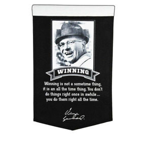 VINCE LOMBARDI COLLECTION WINNING BANNER