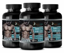 Bulgarian Tribulus Terrestris Extract Muscle Growth Factor 180 Tablets 3 Bottles