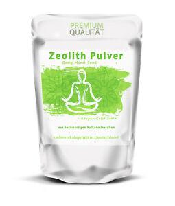 Zeolith Pulver 1000 g   100% reines Naturprodukt   hoher Klinoptilolith-Gehalt