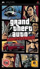 grand theft auto liberty city stories + map  psp