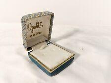 Empty Earring Box ~ Opalite
