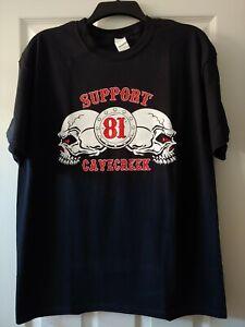 Hells Angels Support 81 Kinder Baseball Shirt Baby rot//weiß Longsleeve