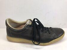 Ecco Men's Sz EU 43 US 9-9.5 TPU Soft Spike Golf Shoes Casual Sneaker Leather