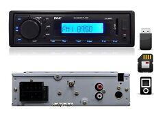 NEW Pyle PLR26MPU Car In-Dash AM/FM Radio USB SD Receiver Front AUX for iPod/MP3