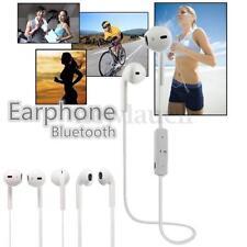 Écouteurs blancs sports