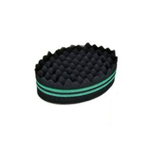 Double Sides Twist Hair Brush Sponge Brushes Afro Coil Wave Dread Sponge Tools