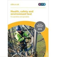 Health Safety and Environment Test for Operatives and Specialists:GT 100/16 2016